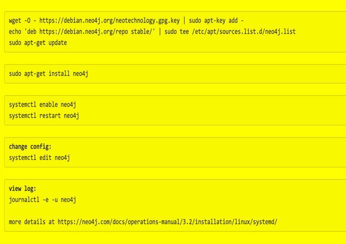 Bootstrap a Neo4J instance on a new Ubuntu VM - Webtic